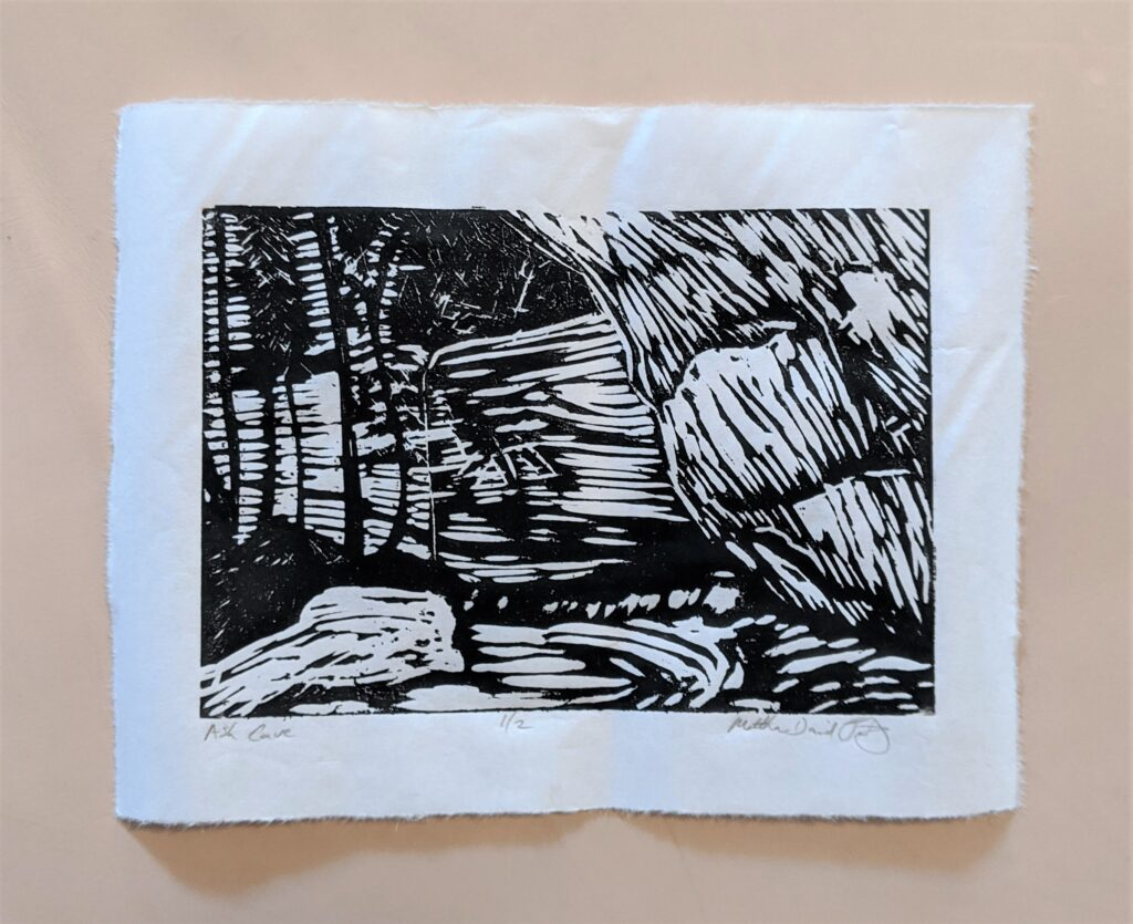 Ash Cave print